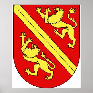 Wappen Vogtei Thurgau, Hungría Póster