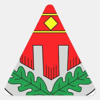 Wappen von Blaichach Calcomanía De Triangulo Personalizadas