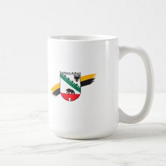 Wappenzeichen Saxonia-Anhalt Coffee Mug