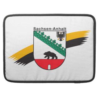 Wappenzeichen Saxonia-Anhalt MacBook Pro Sleeves