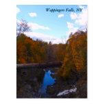 Wappingers Falls in Autumn Post Card