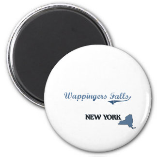 Wappingers Falls New York City Classic Magnet