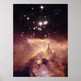 War and Peace Nebula Print