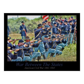 War Between The States Poster
