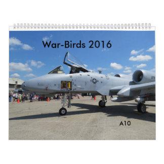 War-Birds 2016 Calendar