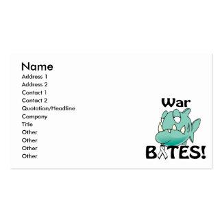War BITES Business Card