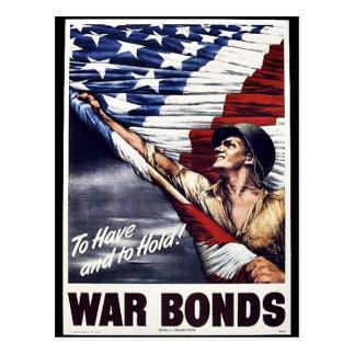 War Bonds Postcard