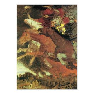 War by Arnold Bocklin, Vintage Symbolism Fine Art Card