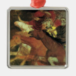War by Arnold Bocklin, Vintage Symbolism Fine Art Ornament