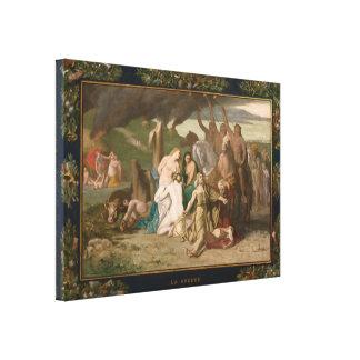 War by Pierre Puvis de Chavannes Canvas Prints