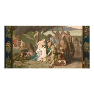 War by Pierre Puvis de Chavannes Photo Card