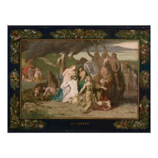 War by Pierre Puvis de Chavannes Poster