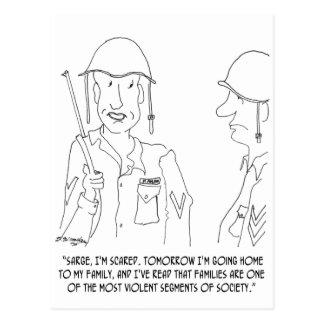 War Cartoon 0343 Postcard