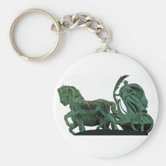 War Chariot, Heroes Square, Budapest(3) Basic Round Button Keychain