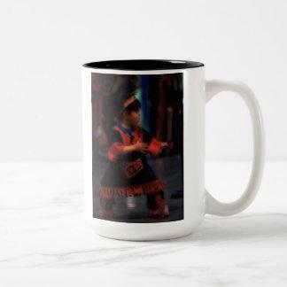 'War Child' Two-Tone Coffee Mug