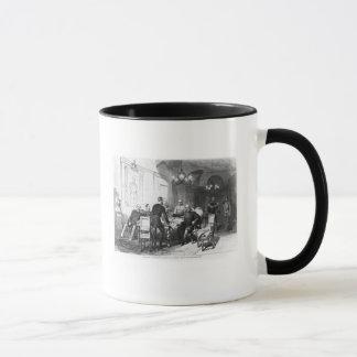 War council at Versailles Prefecture Mug