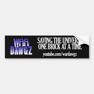 War Dawgz Bumper Sticker