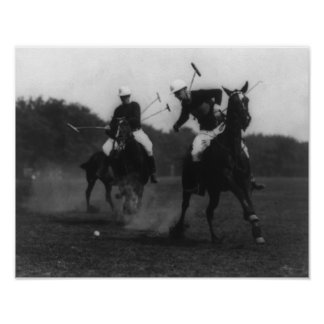 War Department Polo Association Game Photograph Poster