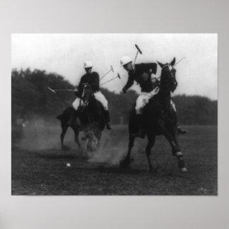 War Department Polo Association Game Photograph Poster