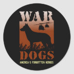 War Dogs-Our Forgotten Heroes VD Sticker