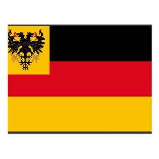 War ensign the German Empire Navy 1848 1852, Germa Postcard