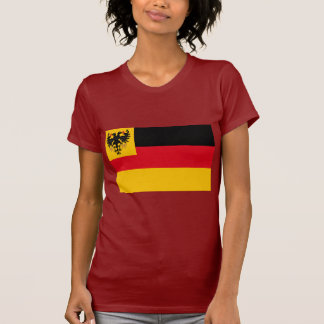 War ensign the German Empire Navy 1848 1852, Germa T-Shirt