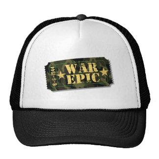 War Epic Movie Ticket Hat