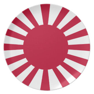 War_flag_of_the_Imperial_Japanese_Army. Dinner Plate