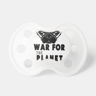 war for planet of pugs cool dog pacifier