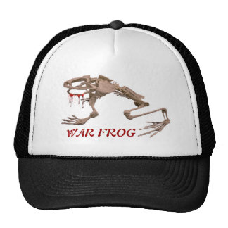WAR FROG TRUCKER HAT