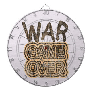 War Game Over Dart Boards