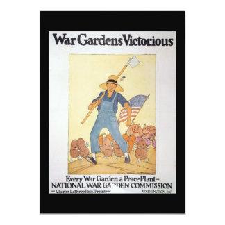War Garden World War II Card