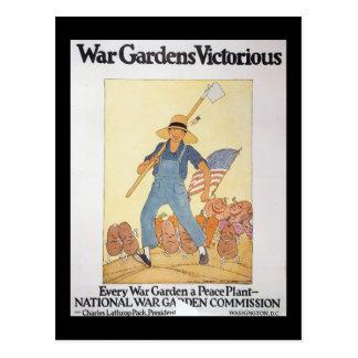 War Garden World War II Post Cards