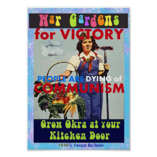 War Gardens for Victory Poster