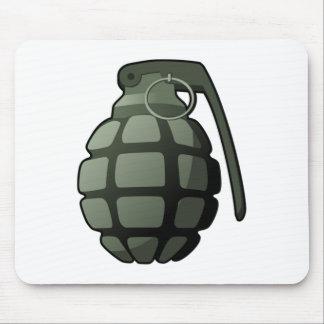 War Grenade Mouse Pads