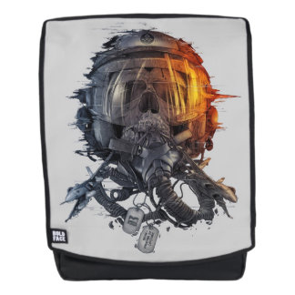 War Helmet Backpack