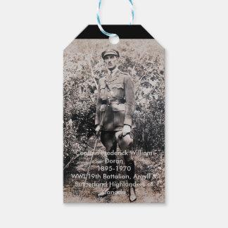 War Hero Gift Tags