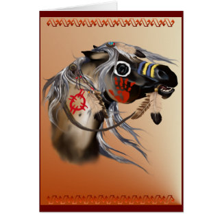 War Horse Card