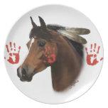 War Horse Collector Plate