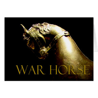 War Horse gifts & greetings Card
