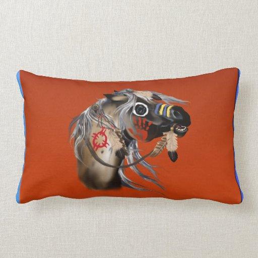 War Horse Pillew Throw Pillows