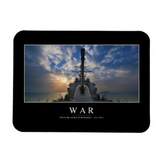 War: Inspirational Quote 2 Magnet
