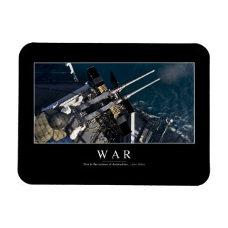 War: Inspirational Quote 3 Magnet