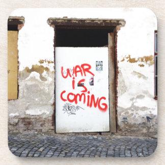 War Is Coming Drink Coaster