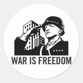 War is Freedom Sticker