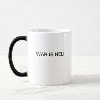 WAR IS HELL COFFEE MUGS