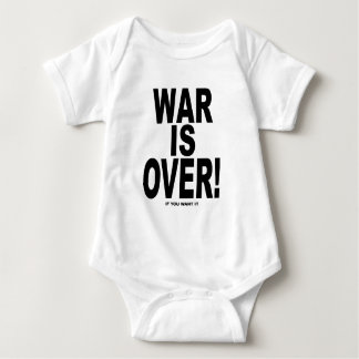 War Is Over if you want it Baby Bodysuit