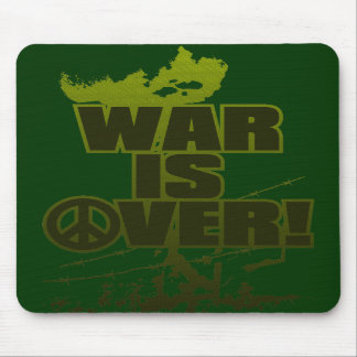 WAR_IS_OVER! MOUSE PAD