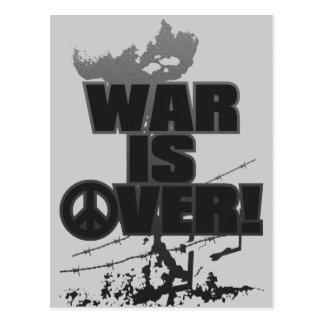 WAR_IS_OVER! POSTCARD