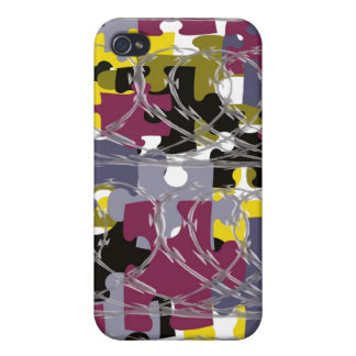 war is puzzling iPhone 4 cover